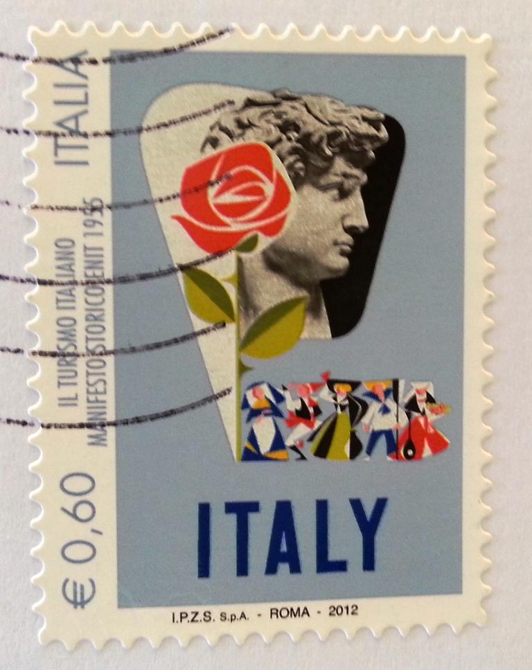 IL TURISMO ITALIANO MANIFESTO STORICO ENIT 1955