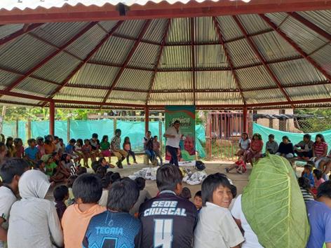 Gobernación de Boyacá y municipio de Cubará avanzan en la traducción, a lengua nativa U´wa, de la carta de trato digno con lenguaje claro