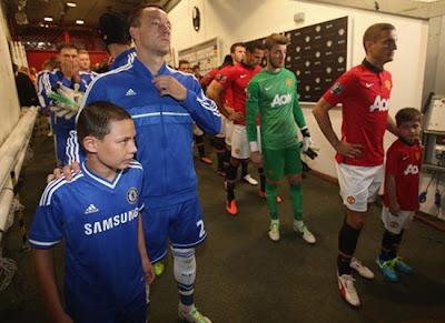 Manchester United v Chelsea 2013