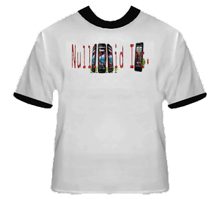 NullinVoid Inc OFFICIAL Tshirt
