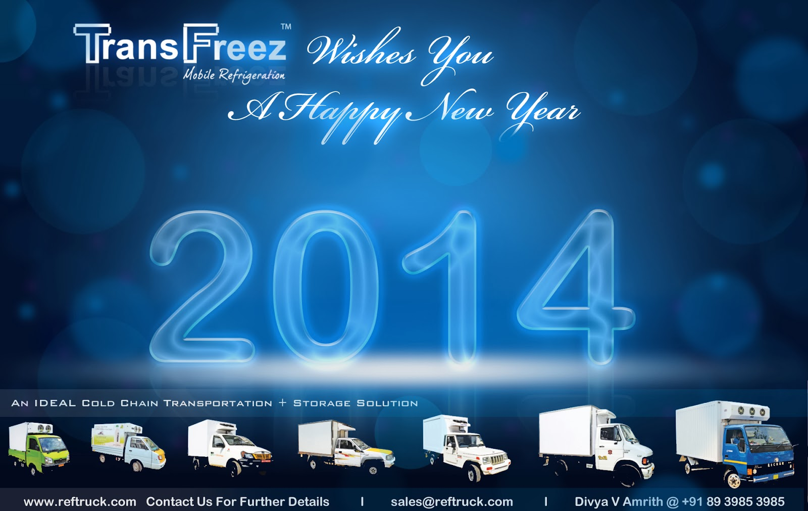 new year wishes from indias leading refrigerated truck manufacturers