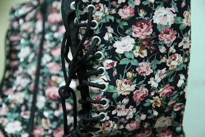 floral boots martens