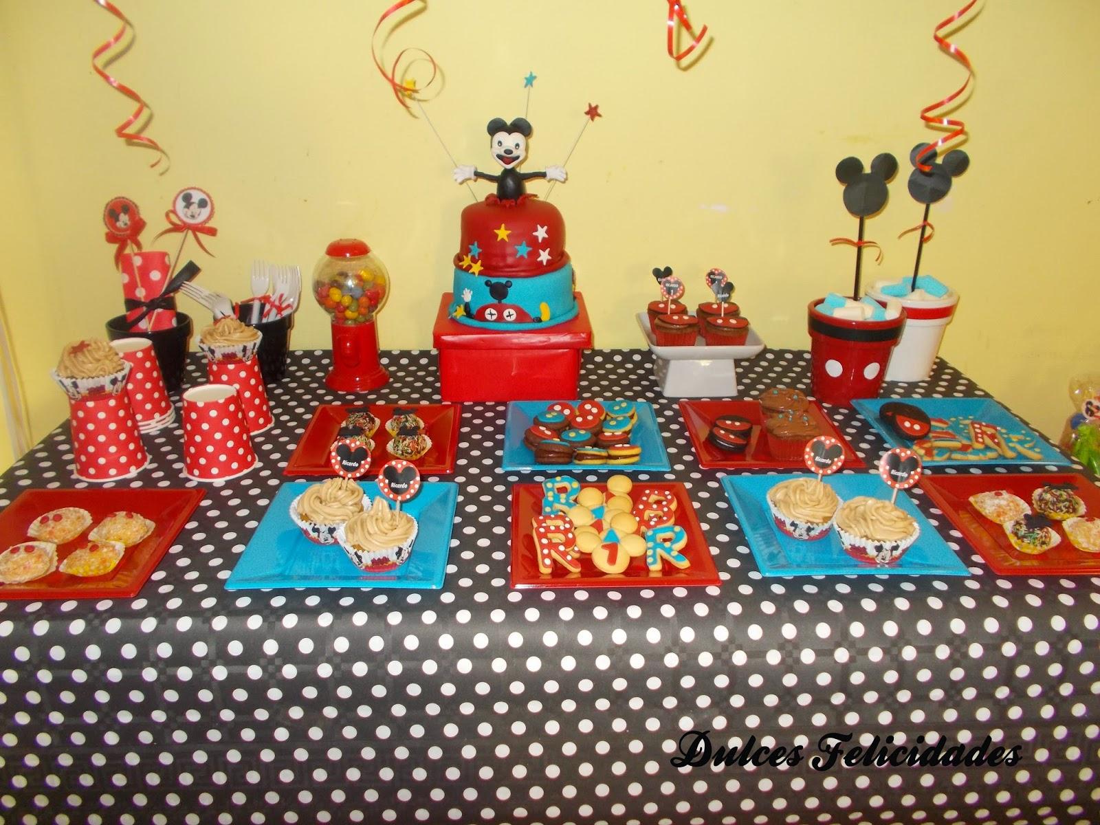 Mesa dulce Mickey Mouse