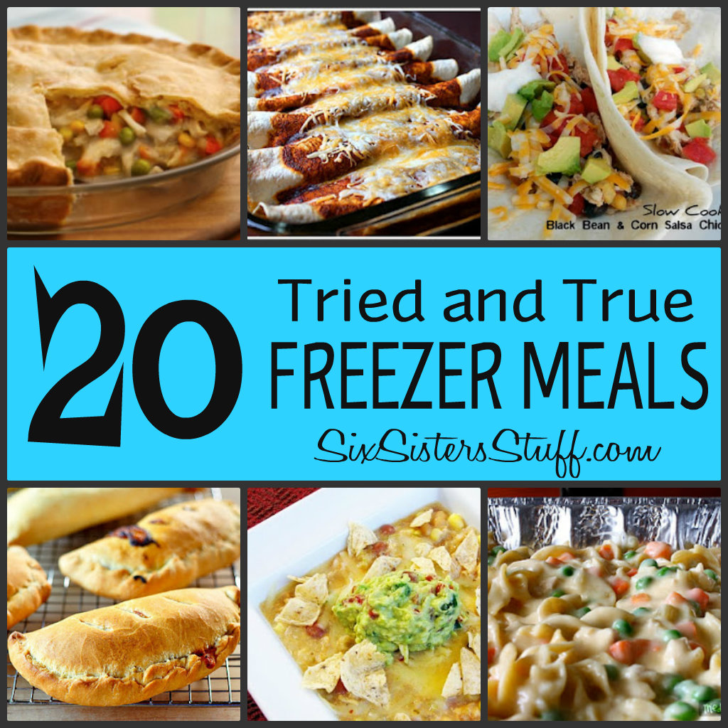 Easy frozen lunch recipes