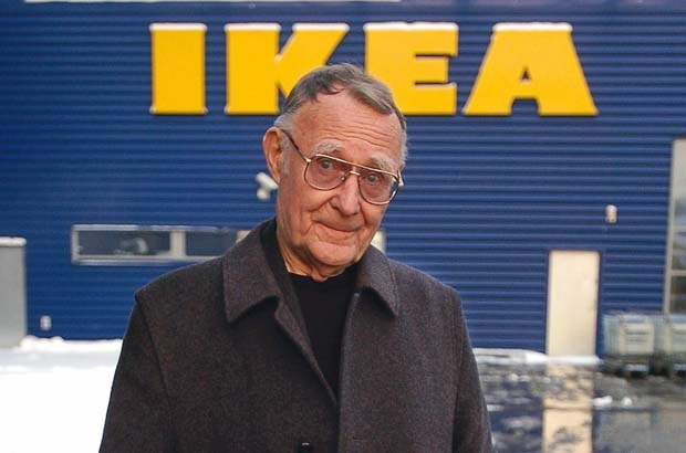 IKEA FOUNDER INGVAR KAMPRAD: DEAD AT 91