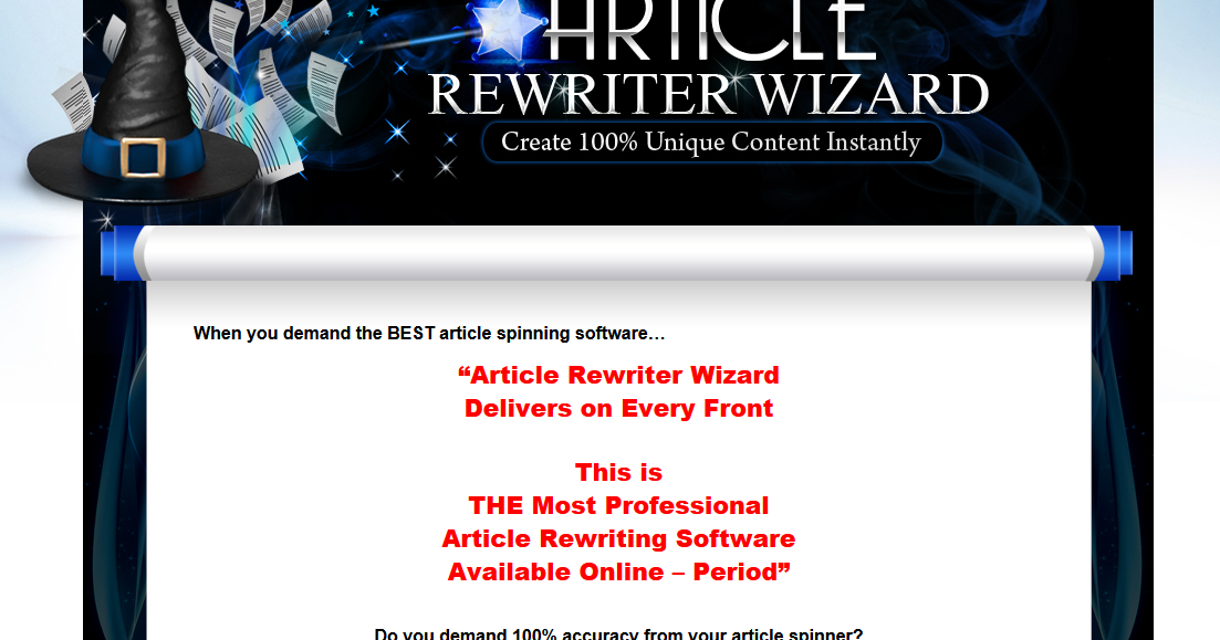 Best Article Rewrite Software - adsdlystorm