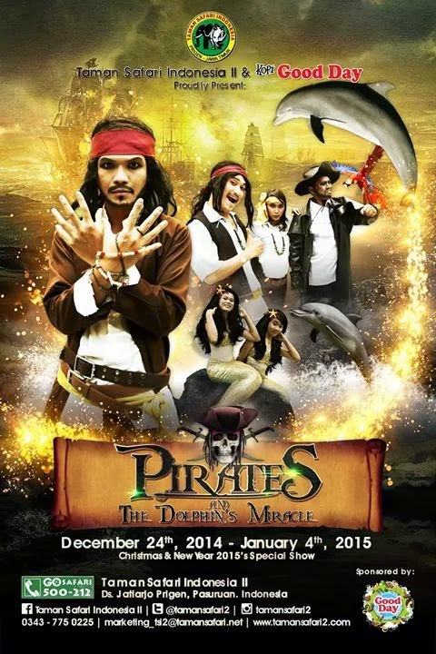 PIRATES & THE DOLPHIN'S MIRACLE