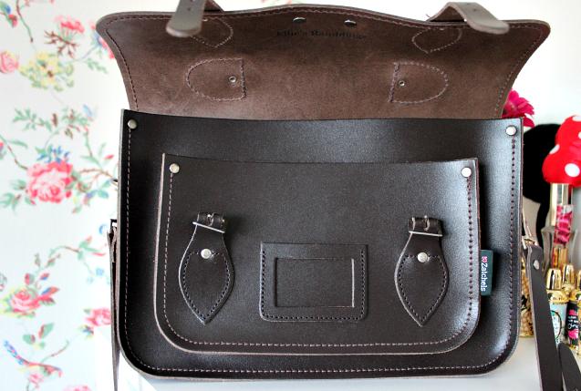 Review | Zatchels Dark Brown Leather Satchel