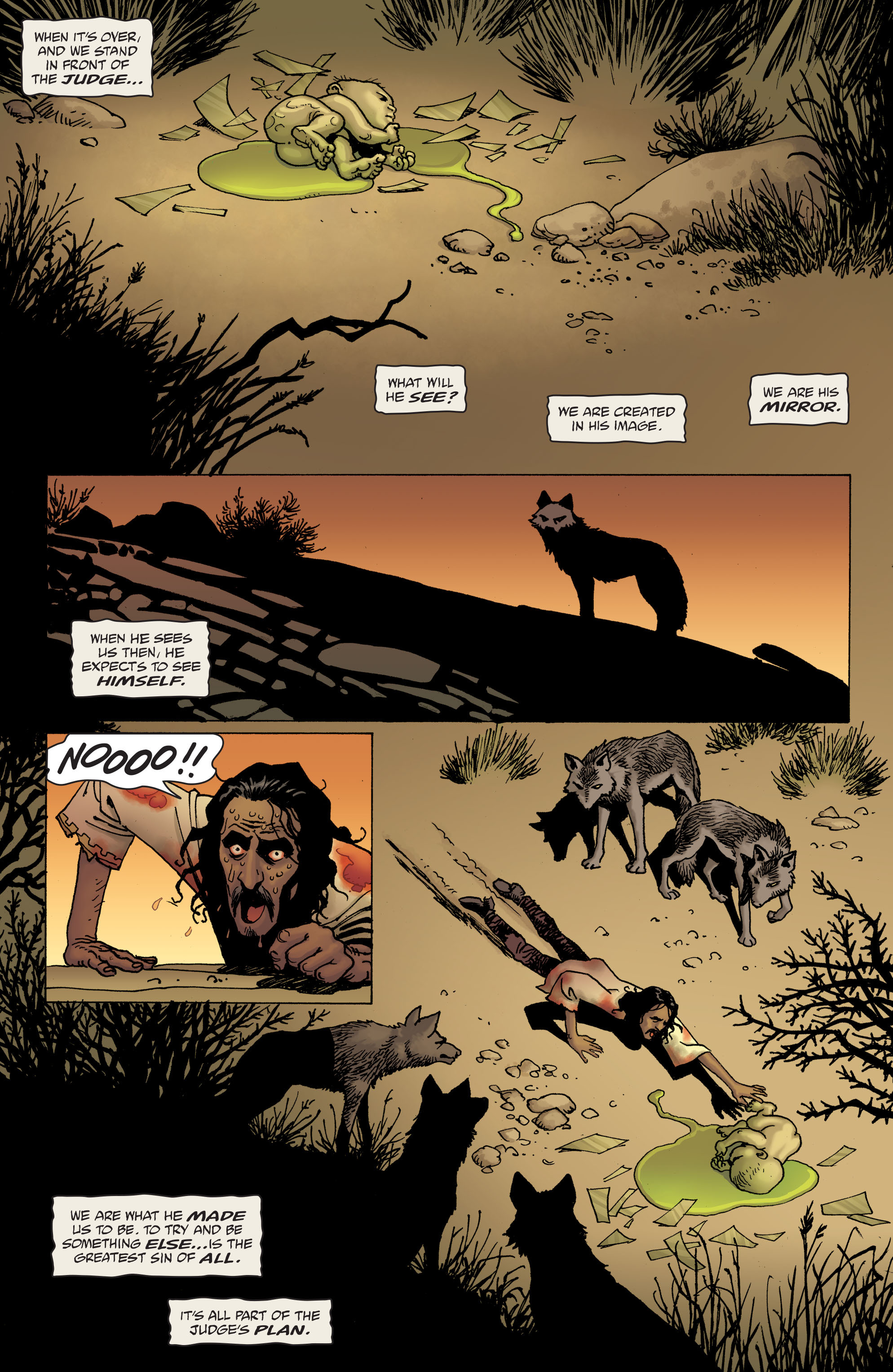100 Bullets: Brother Lono Full Page 184