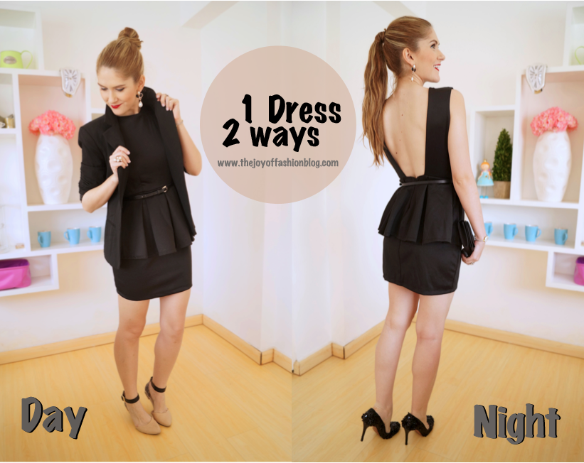 1 Dress, 2 Ways: how to wear a Little Black Dress