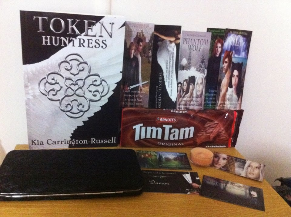 Token Huntress Paperback Bundle Giveaway