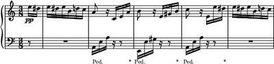 Für Elise Bagatelle No. 25 in A minor