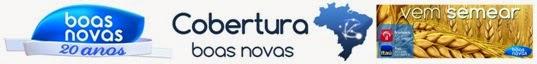 Assista a Boas Novas TV. Em Goiânia, canal 29 TV aberta.