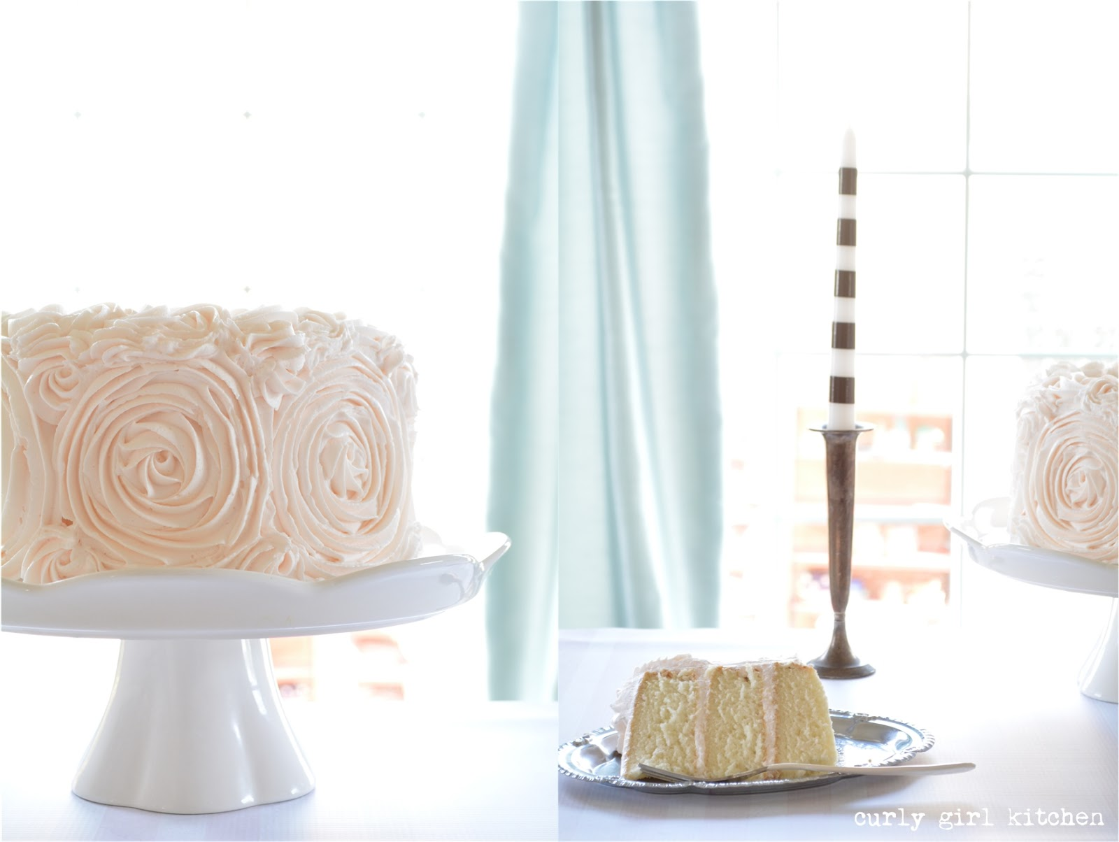 Curly Girl Kitchen: White Cake