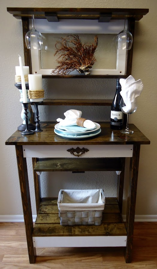 1920s Vintage Window Accent Table - Available $250