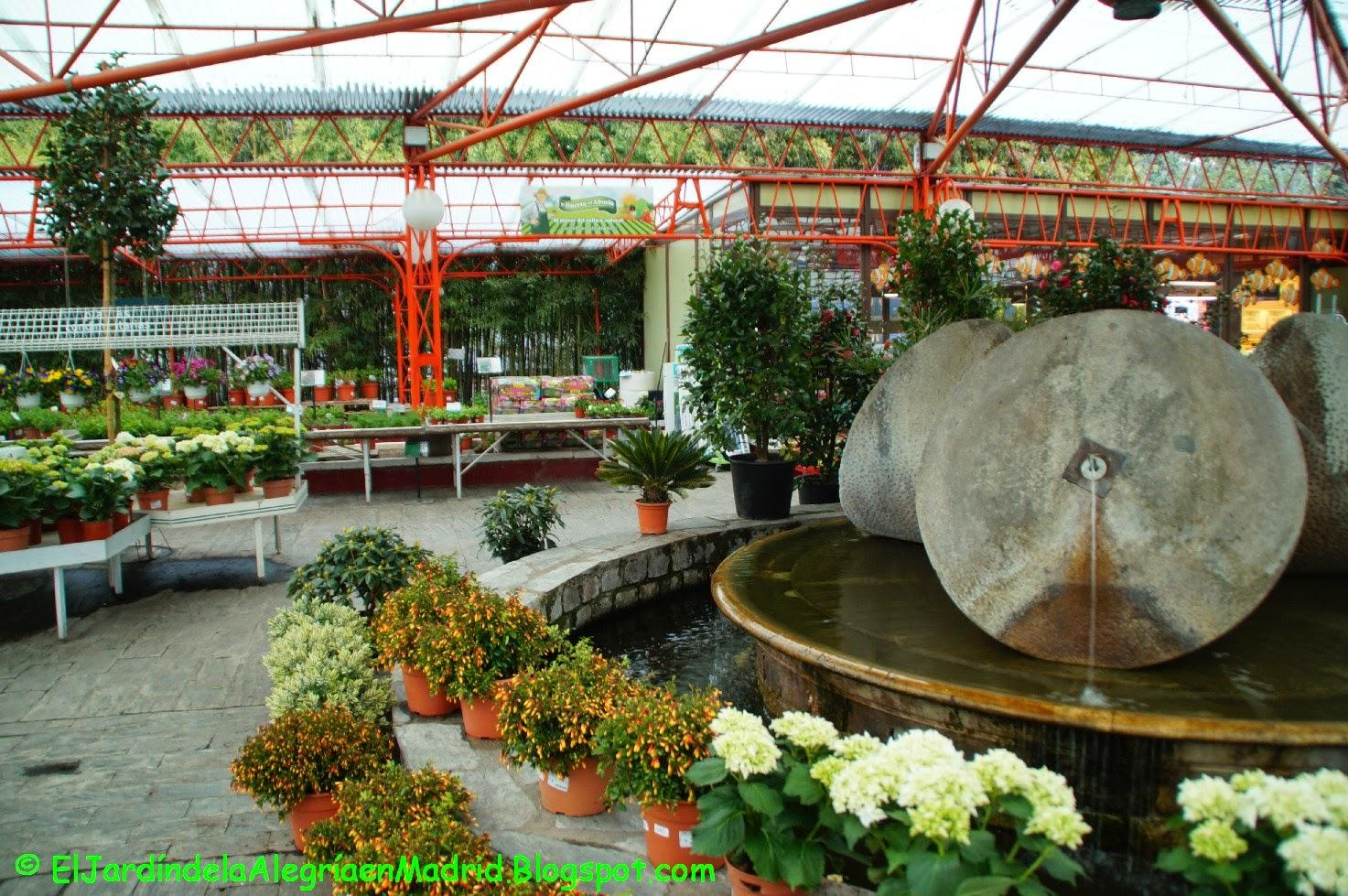 El jard n de la alegr a los pe otes un gran centro de - Centros de jardineria madrid ...