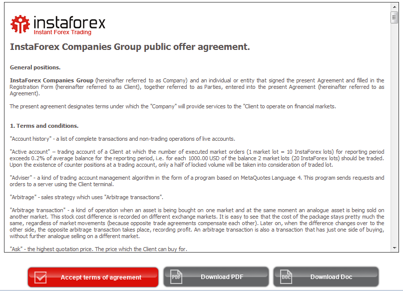 Forex affiliate agreement