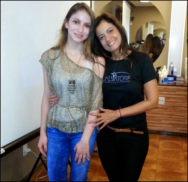 Blogueira Renata Mendes e promotora de eventos Suzana Marques no Evento Salvatore