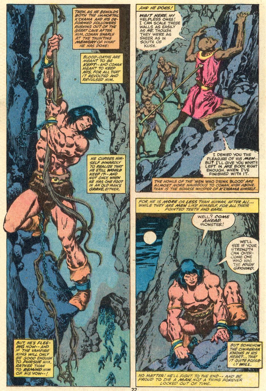 Conan the Barbarian (1970) Issue #103 #115 - English 13