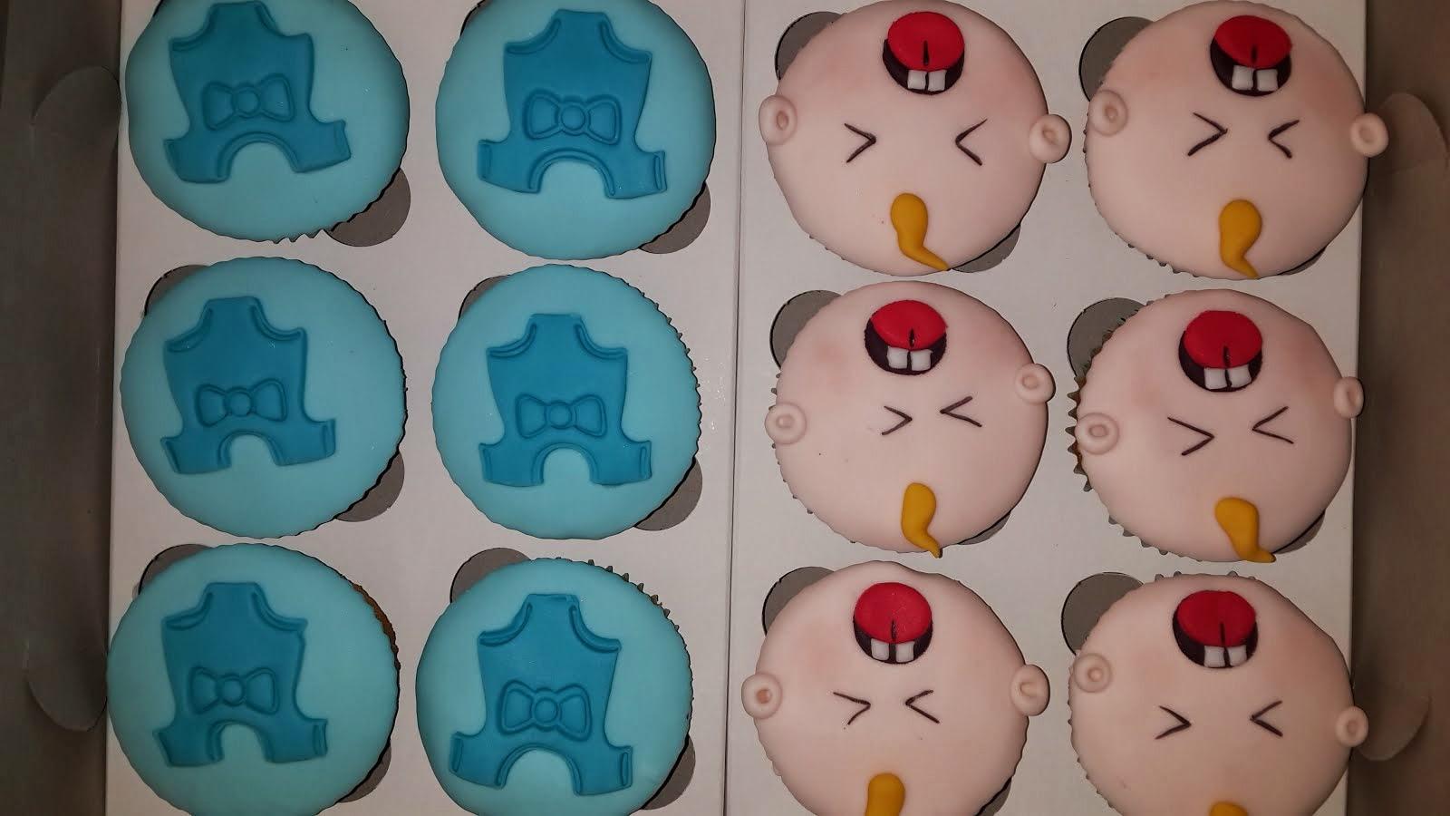 It's a boy - Cupcakes