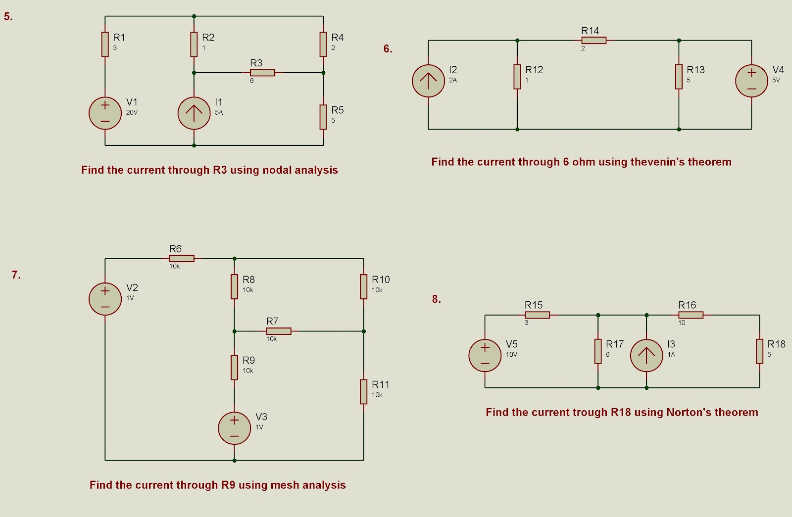 Exploring The Microcontrollers Circuits Nodal Analysis