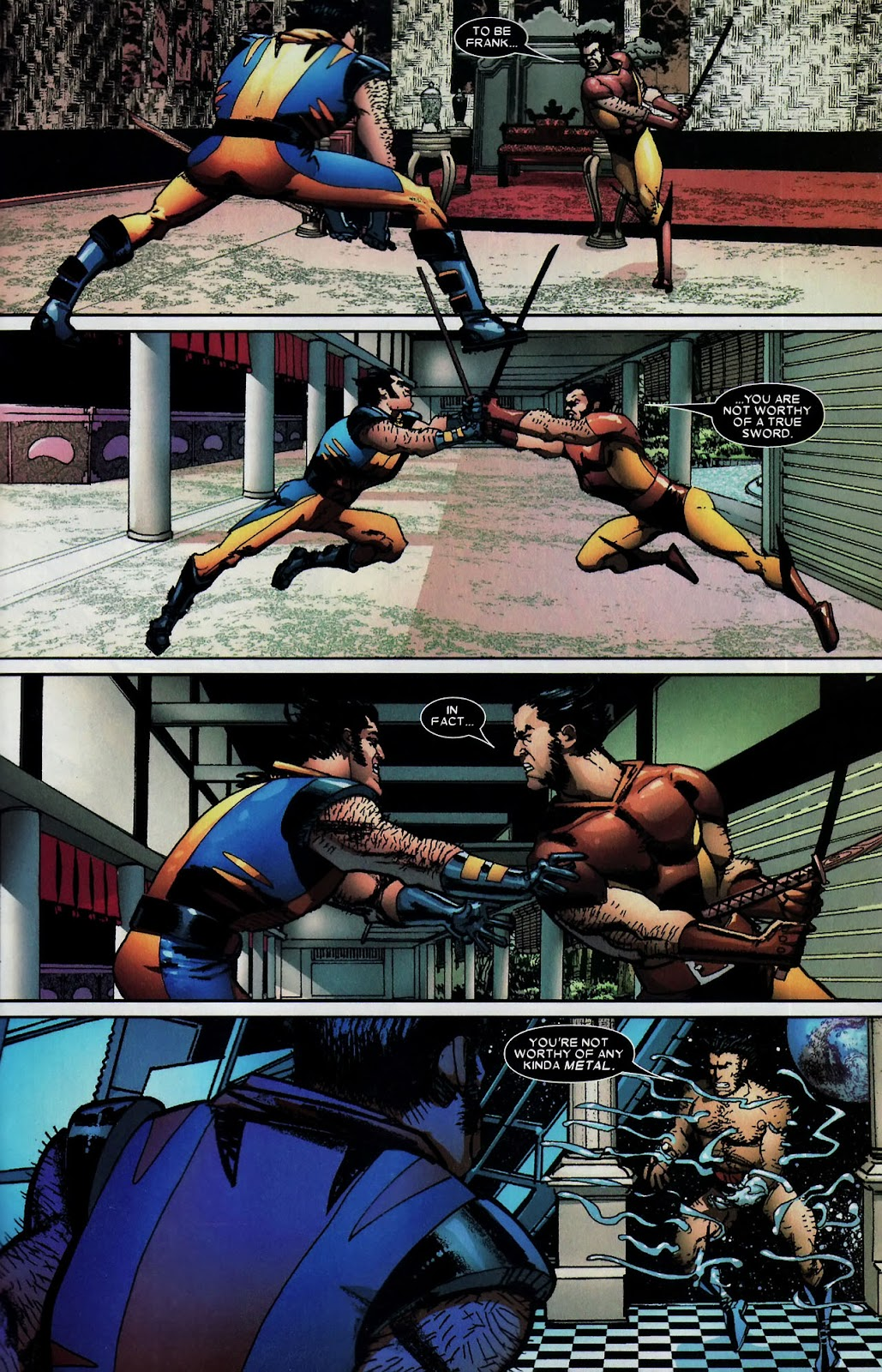 Read online Wolverine (2003) comic -  Issue #59 - 17