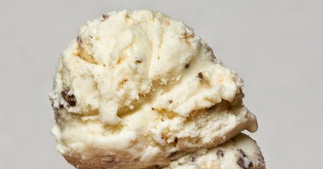 Malted Milk Toffee Crunch Ice Cream   PearlPosts