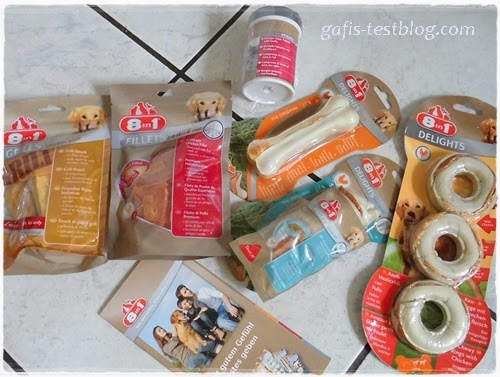 8in1 - Produkte für den Hund