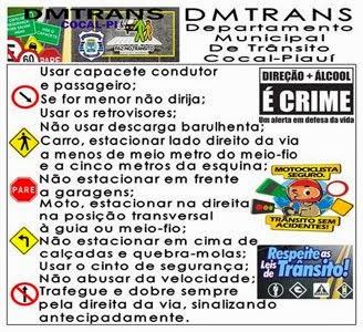 NORMAS DE TRÂNSITO