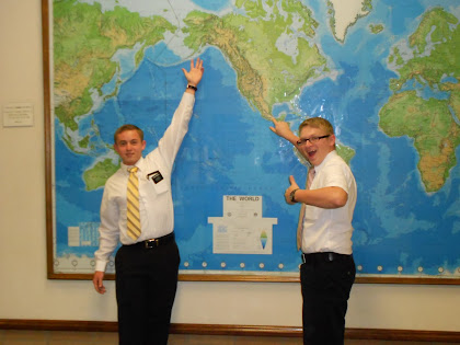 Elder Waddell and Elder Tellez