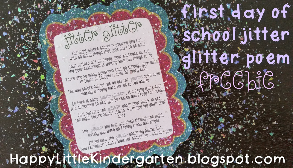 Nifty image in jitter glitter poem printable