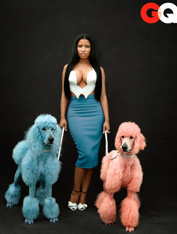 Nicki Minaj Is Smoking Hot For GQ Magazine – Photos