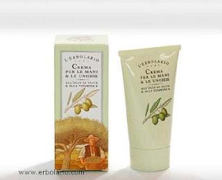 Crema mani olio oliva e vitamina E Erbolario