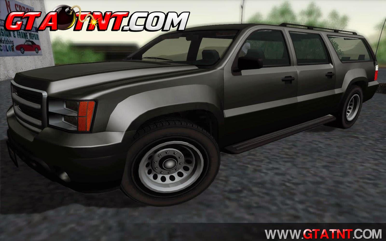 FIB Granger Convertido do GTA V para GTA San Andreas