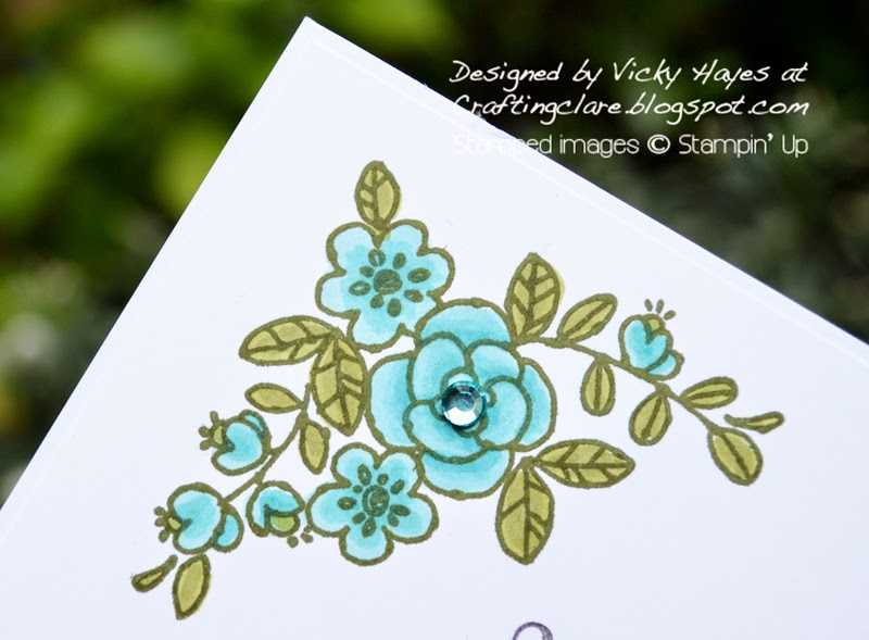 Catalogue launch day free blendabilities give away from independent Stampin' Up demonstrator Vicky Hayes