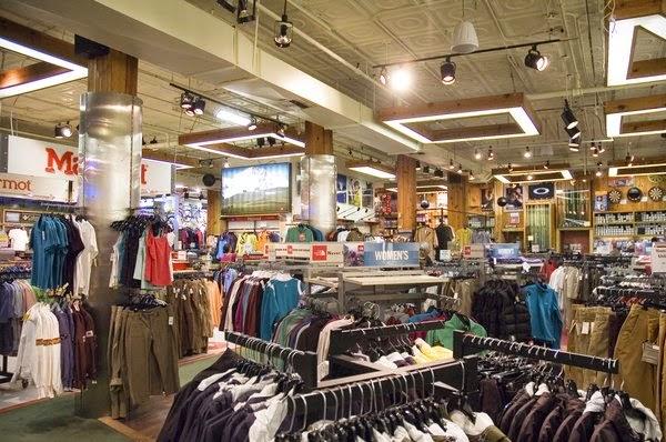 Loja Paragon Sports Store em Nova York