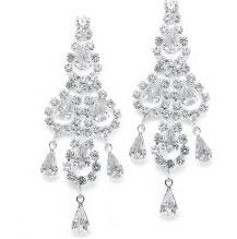pretty wedding earrings