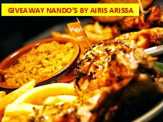 Giveaway Nando's by Airis Arissa