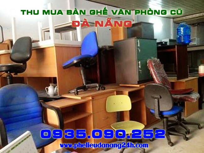Mua bán thanh lý bàn ghế văn phòng cũ tại Đà Nẵng