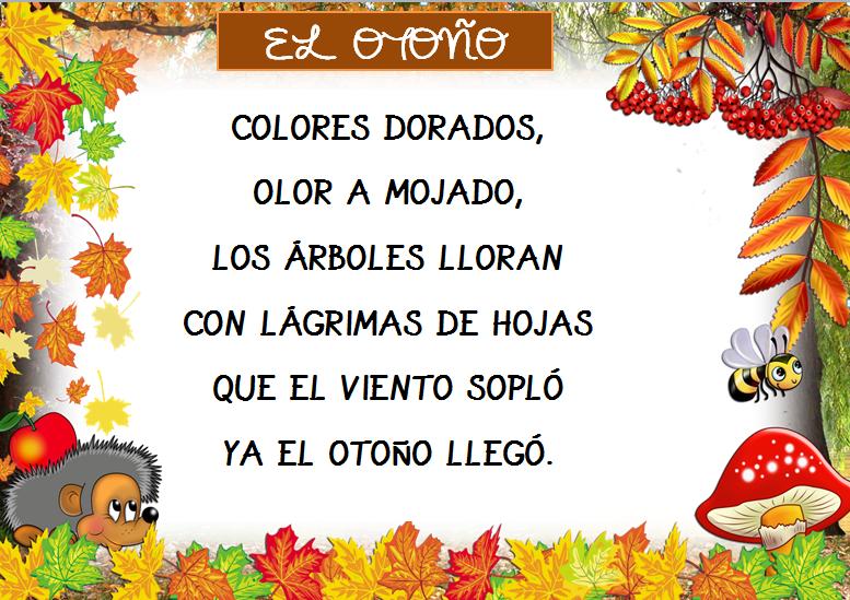 Image result for Poemas sobre el otoño