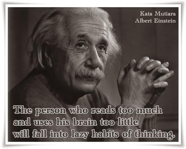 Kumpulan Kata Mutiara Albert Einstein