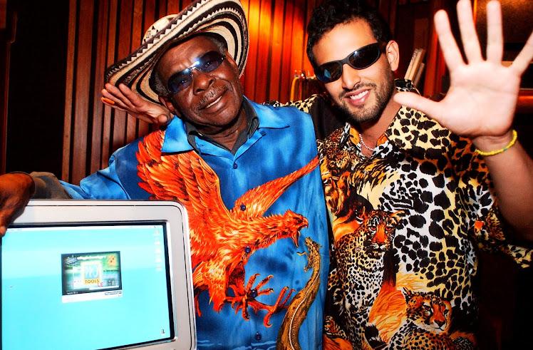 BATATA Y Lucas Silva CHAMPETA MAN IN STUDIO -2002