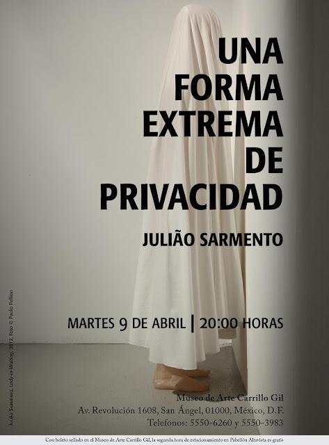 Una forma extrema de privacidad de Julião Sarmento en el Museo de Arte Carrillo Gil