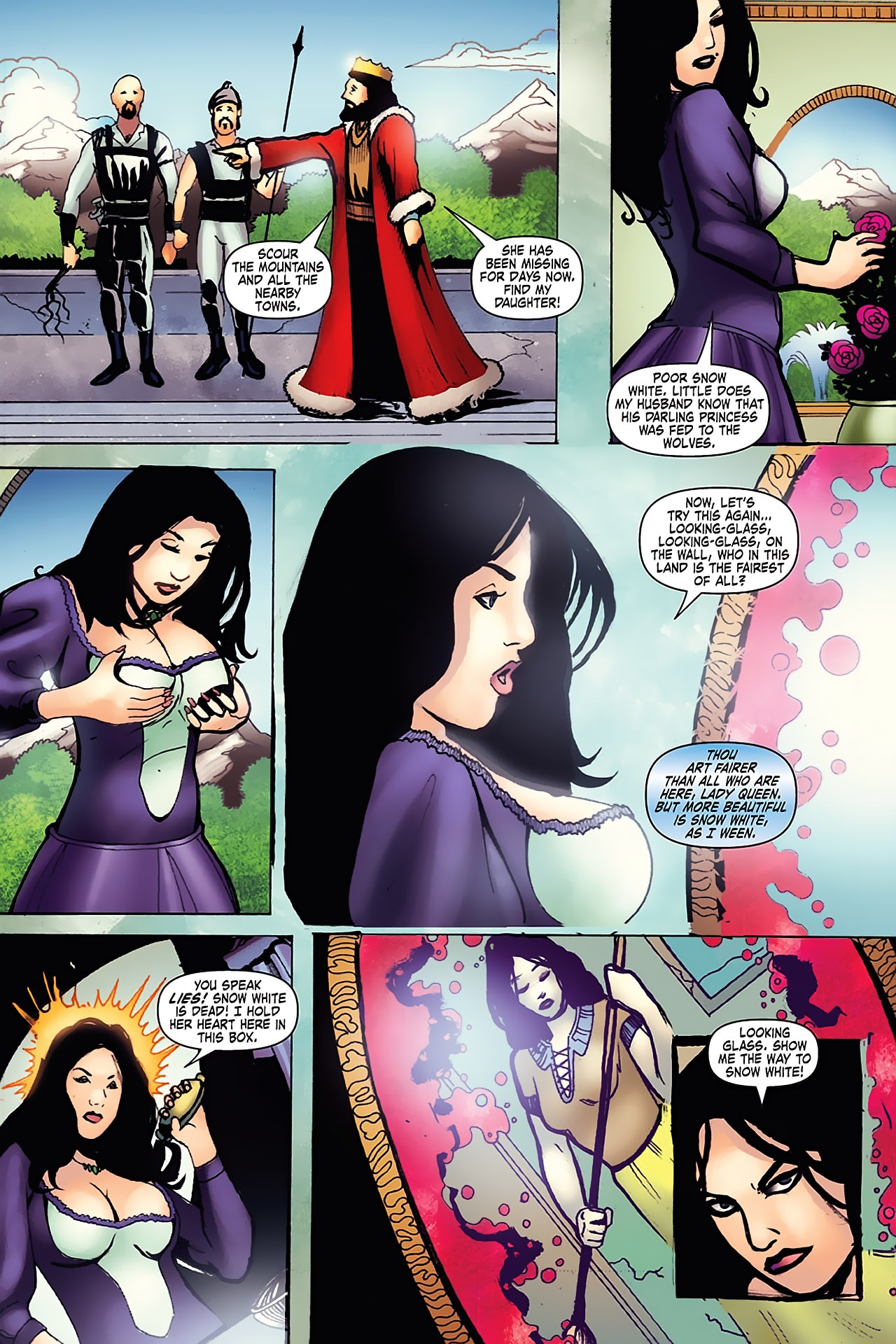 Grimm Fairy Tales (2005) Issue #7 #10 - English 16