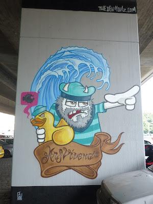 Streetart, Graffiti