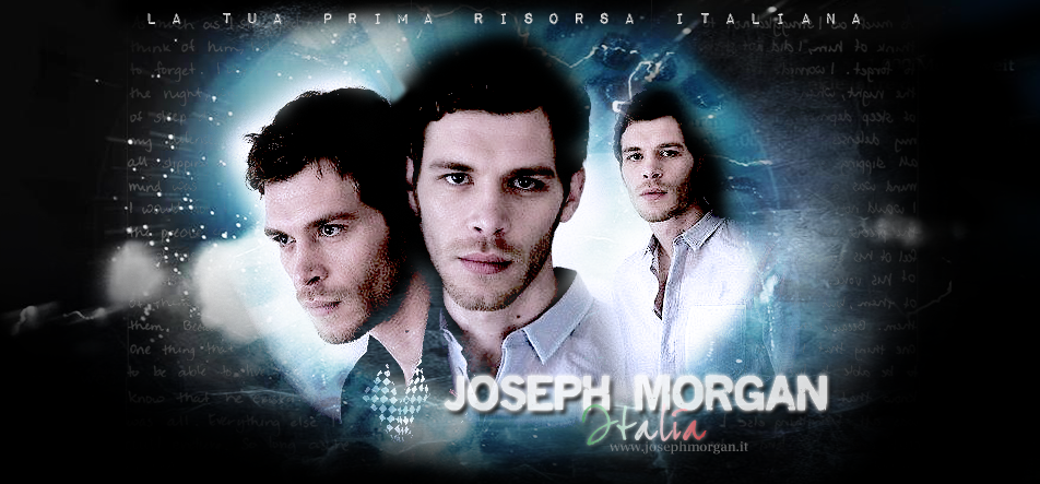 Joseph Morgan Italia