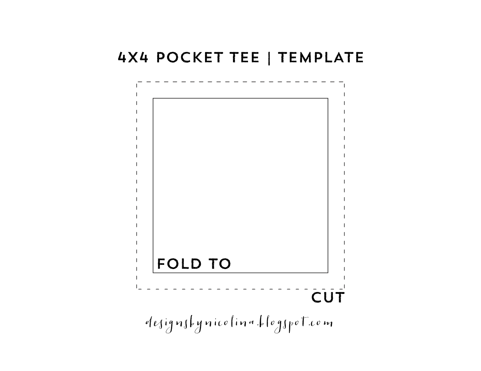 Designs by nicolina no sew disney inspired pocket tee for 4x4 label template