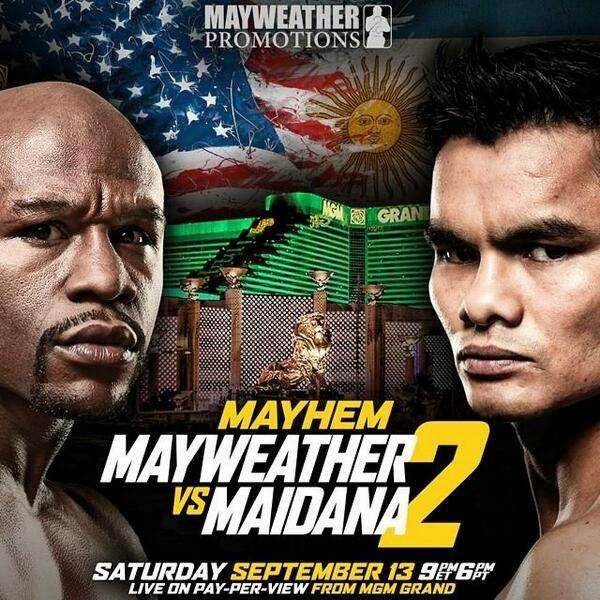Floyd Mayweather-Chino Maidana