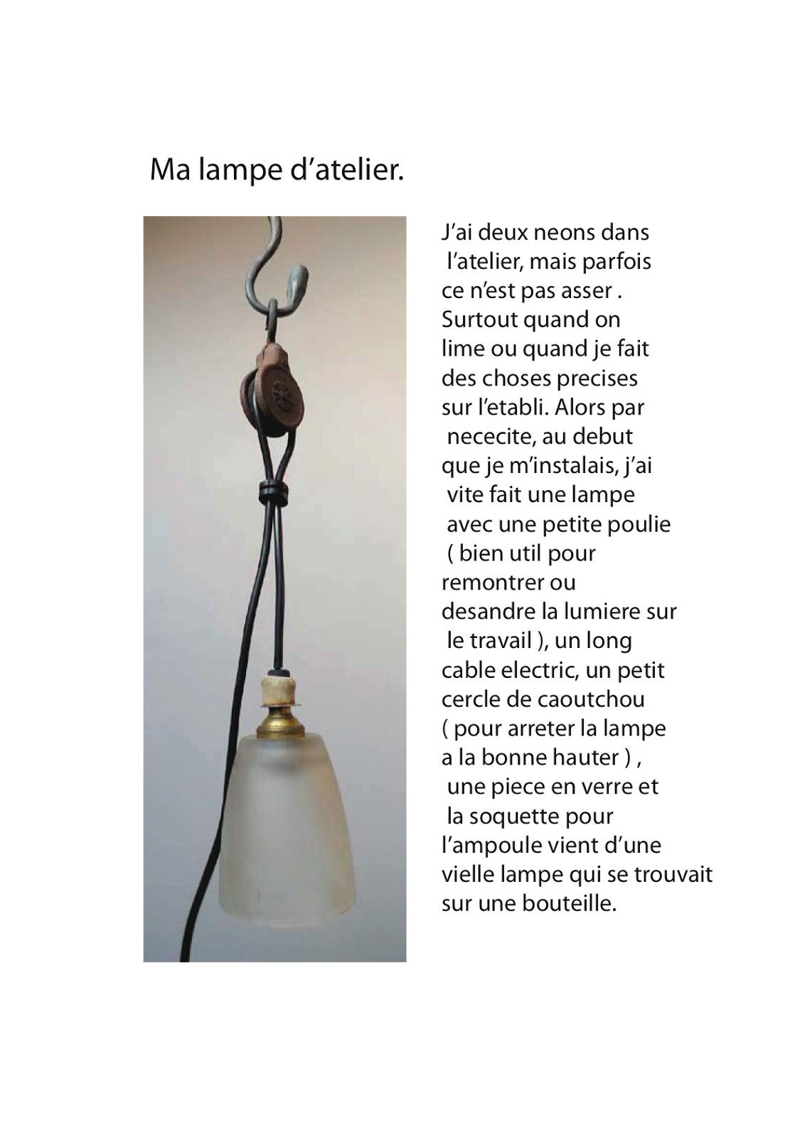 la forge de mousty ma lampe d 39 atelier. Black Bedroom Furniture Sets. Home Design Ideas
