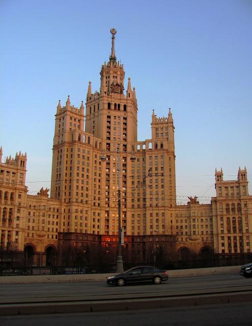 Москва, сталинская высотка